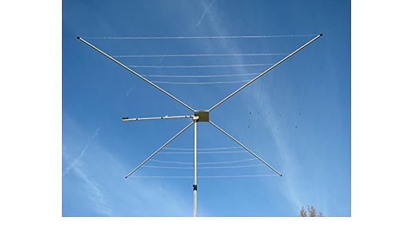 HAMRADIOSHOP mfj-1836h Cobweb Antena 14 – 50 MHz 1500 W ...