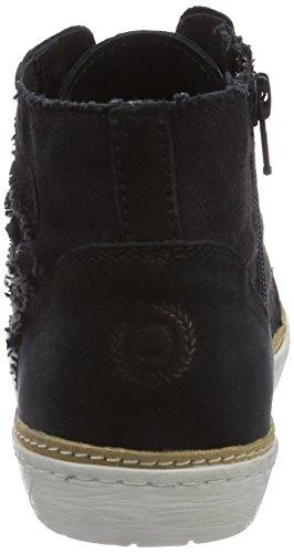 Bugatti J50261G6 Damen Hohe Sneakers Schwarz (schwarz 100)