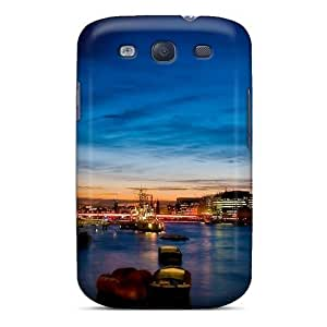 AGDMQuF2036sWlmX Saraumes Awesome Case Cover Compatible With Galaxy S3 - The Thames In London At Night