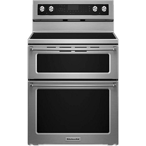 KitchenAid Stainless Steel 5 Burner Double Oven Range Review