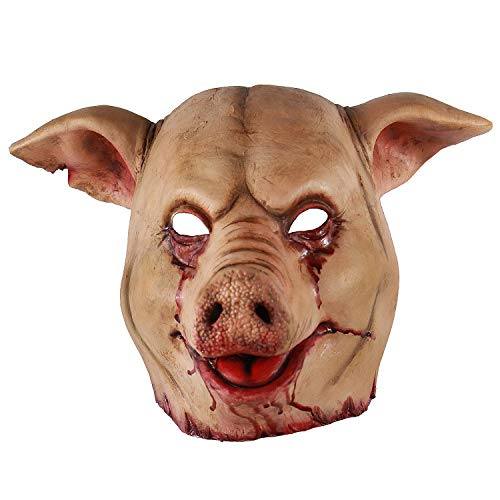 Scary Animal Latex Mask Halloween Costume Cosplay Props, Red, Size Unisex-Adult - http://coolthings.us