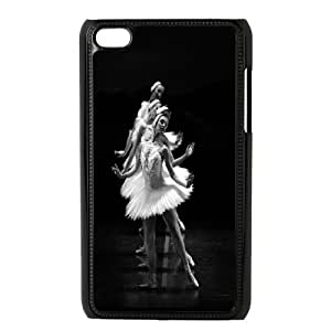 Unique Phone Case Pattern 7Swan-ballet dancer- FOR IPod Touch 4th