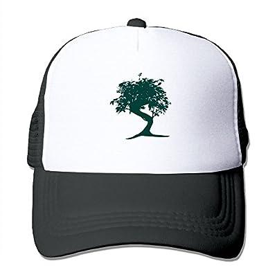 Wubgg Mens Womens Bonsai Tree Japanese Black Trucker Hat Trucker Hats For Men Women