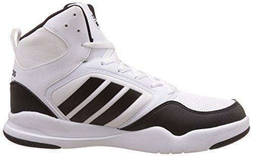 adidas Cloudfoam Rewind Mid, Chaussures de Basketball Homme, Blanc Cassé (Ftwbla/Negbas/Negbas), 42 EU