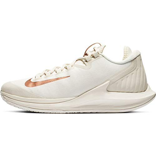 Nike Women's Court Air Zoom Zero Tennis Shoes (8, ()
