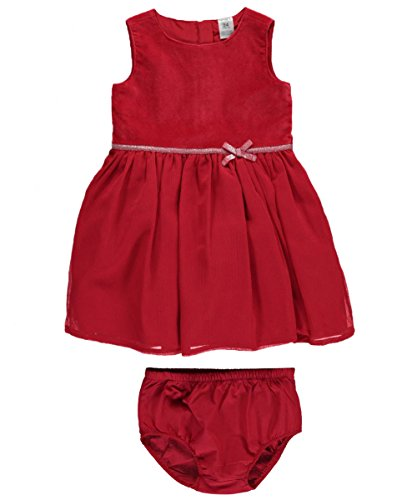 Carter's Baby Girls' Velveteen Dress 12 Months