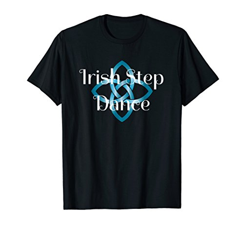 Irish Step Dance T-Shirt Celtic Knot Stepdance Tee Shirt]()