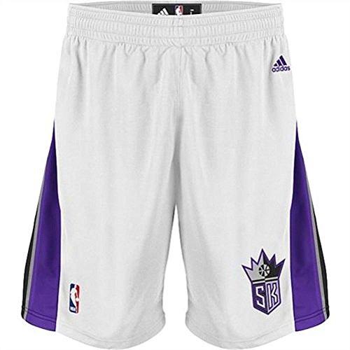 Adidas Swingman Basketball Shorts - Sacramento Kings Adidas White Swingman Performance Shorts (S)