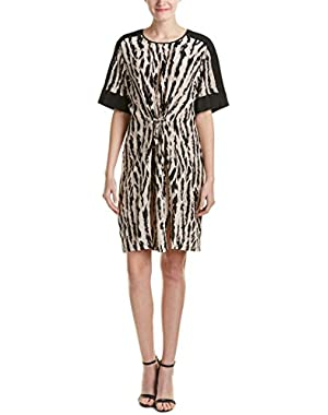 Bcbgmaxazria Nicolette Silk Shift Dress
