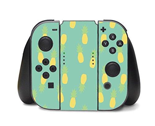 pineapple-cute-pastel-pattern-nintendo-switch-controller-vinyl-decal-sticker-skin-by-moonlight-print