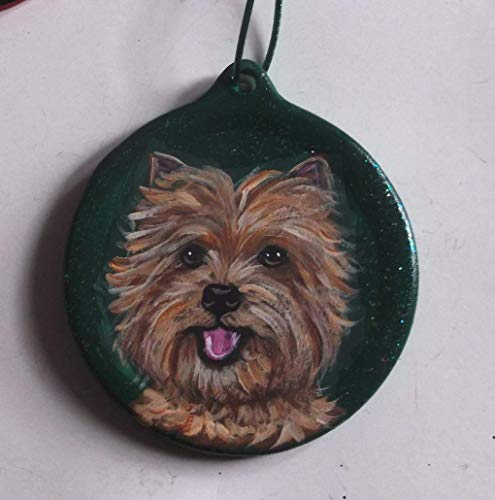 - Cairn Terrier Dog Christmas Ornament Custom Hand Painted