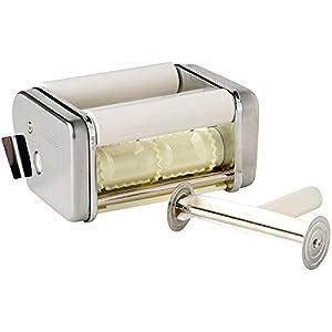 Ibili IB-725404 Accessorio ravioli per Macchina Pasta Ibili 773100, Acciaio inossidabile, Argento, 17 x 12 x 8 cm