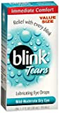 blink Tears Lubricating Eye Drops Mild-Moderate Dry Eye 30 mL (Pack of 2)