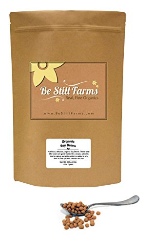 - Organic Soy Beans (Soybeans), 5 Pounds - USDA Certified Organic | Non-GMO | Vegan