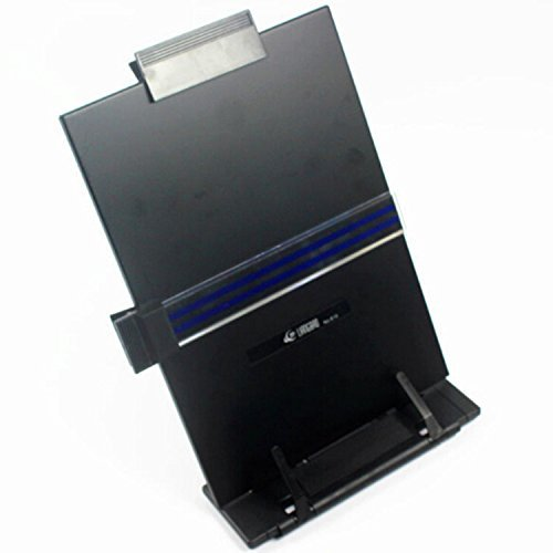 A4 New Black Metal Desktop Document Book Holder Stand With 7 Adjustable Positions by Life VC (Image #1)