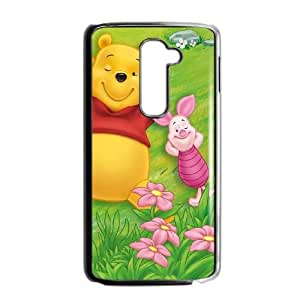 LG G2 Phone Case Cartoon Many Adventures of Winnie the Pooh Protective Cell Phone Cases Cover DFJ104969
