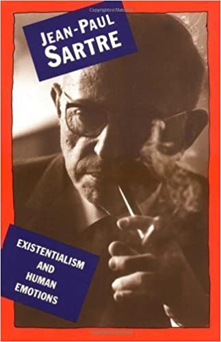 Book Existentialism and Human Emotion (A Philosophical Library Book) by Jean-Paul Sartre Reissue Edition [Paperback(2000)]