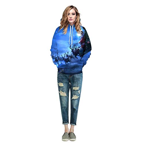 Size Color Felpe Manica Coppia 22 Baggy Cute Sweatshirts Casual Taglie Colour Donna Invernali nbsp; Pattern Lunga Hoodie Stampato Hoody Chic Forti Con S Moda Unisex Pullover Tasche 48xq7B