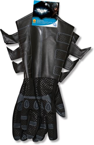 Adult Bat Gloves (30738 Adult Batman Gloves Dark Knight)