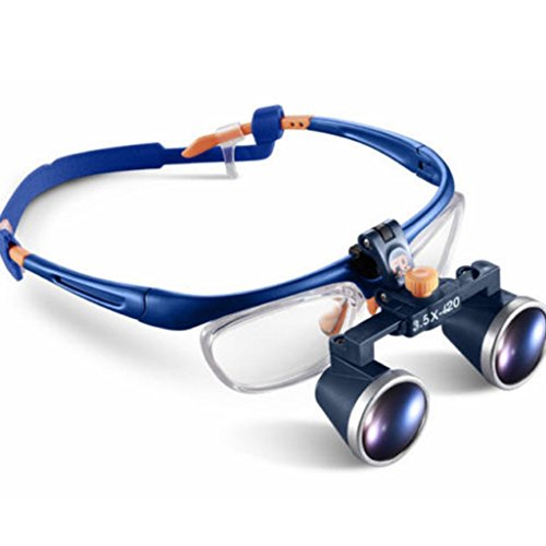 Zgood Portable 3.5X420mm Medical Binocular Galileo Frame Loupe Magnifier Glasses FD-503G by Zgood (Image #9)