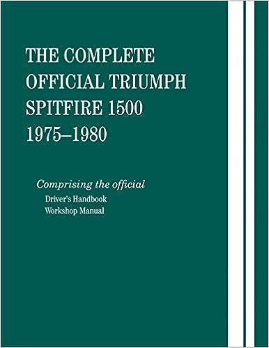 The Complete Official Triumph Spitfire 1500: 1975, 1976, 1977, 1978, 1979, 1980