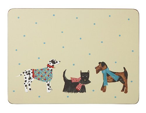 Ulster Weavers Hound Dog Placemats, Large, 4-Pack