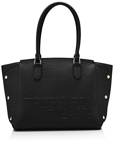Noir Trussardi Jeans Tote Sac black Cabas Melly xxFOq7f