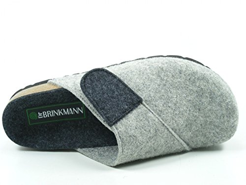 Uomo 220246 Dr Brinkmann Grau Pantofole w1wZxqtU