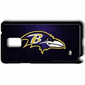 Personalized Samsung Note 4 Cell phone Case/Cover Skin 1079 baltimore ravens 0 Black