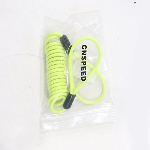 120 cm Cable de recordatorio de Bloqueo del Disco Anti ladr/ón Cerradura de Disco Alarma de Seguridad Moto Herramientas de Seguridad Accesorios de Seguridad de la Motocicleta