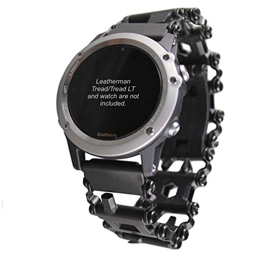 BestTechTool watch adapter compatible with LEATHERMAN TREAD and compatible with GARMIN- BTT adapter compatible with GARMIN watches (Fenix 5x; Fenix 3, 3HR, 3Sapphire, Black)