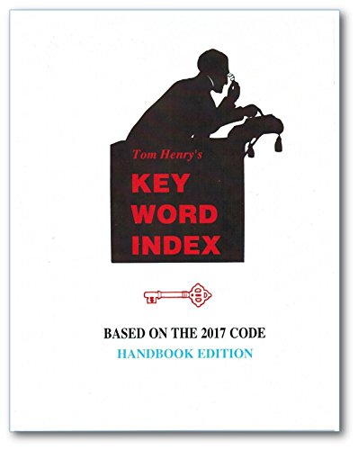 2017 Key Word Index HANDBOOK EDITION by Tom Henry