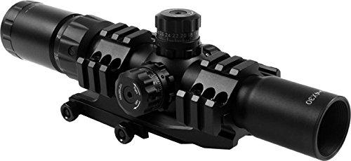 AIM SPORTS JTCR1 Tri Illuminated Cqb Scope with Locking Turrets/Arrow