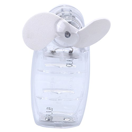 ReFaXiWhite New Summer Mini Air Conditioning Personal Hand-held Cooler (Translucent Handheld Fan)