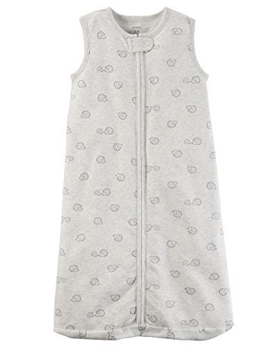 - Carter's Unisex Baby Cotton Sleepbag Sleepsuit, Sleeveless Hedgehog, Small 0-3 Months