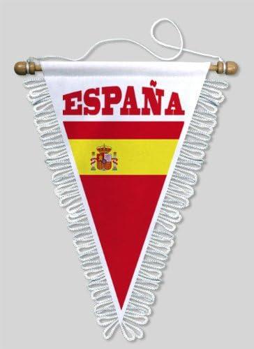 KOO Interactive-Banderín de triángulo España, 18 x 25 cm, diseño ...