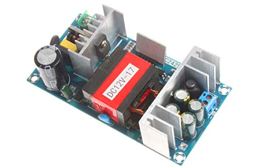 NOYITO AC to DC Isolated Power Supply Module AC 110V - 245V to DC 12V 17A 204W Peak 12V 20A 240W Max Power Module with Overvoltage Overload Short-Circuit Protection (12V 17A, Peak 20A)