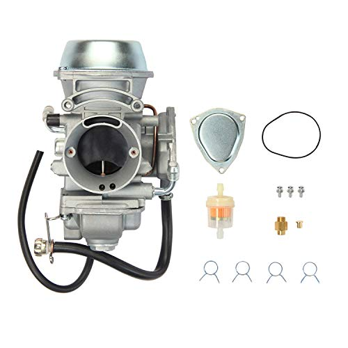 (ATRACYPART Carburetor Carb for 2001-2005 & 2010-2012 Polaris Sportsman 500 4X4 HO | 1997-2009 Polaris scrambler 500 4x4 | 2000-2002 Polaris Trail Boss 325 )