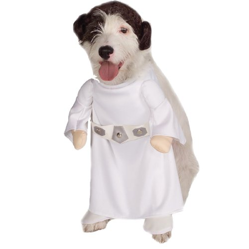 Princess Leia Pet Costume - X-Large (Alien Princess Costume)