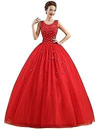 Reds Women\'s Wedding Dresses | Amazon.com