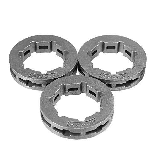 (GIlH 3pcs Sprocket Rim For Stihl 024 026 028 029 034 MS260 MS270 MS280 MS290 Chain Saw Part)