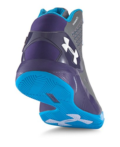 Under Armour Mens Ua Clutchfit Drive Ii Graphite / Purple / Capri
