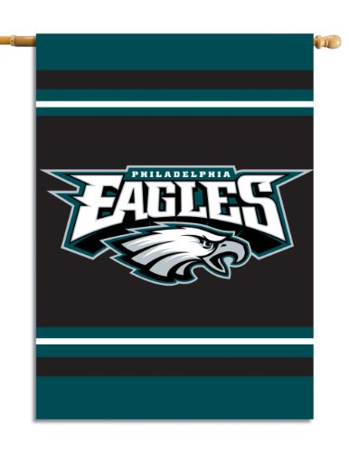 - Fremont Die NFL Philadelphia Eagles 2-Sided 28-by-40-Inch House Banner