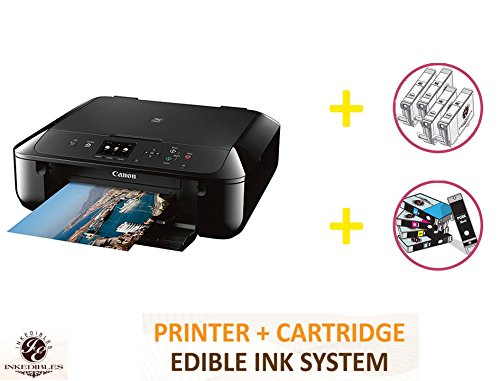 YummyInks Brand DELUXE PACKAGE 1: YummyInks Brand CANON PIXMA MG5720 BUNDLED PRINTING SYSTEM - INCLUDES EXTRAS