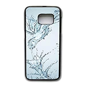 Samsung Galaxy S7 Edge Case, Drops of Water Series Pattern Premium Exquisite Hard Snap on Phone Case Cover for Samsung Galaxy S7 Edge