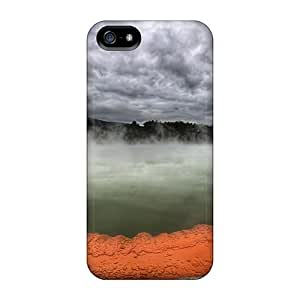 Durable Hot Spring In New Zeal Called Champagne Pool Back Case/cover Case For Ipod Touch 5 Cover