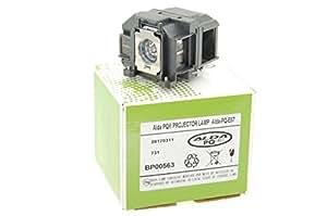 Alda PQ Premium, Lámpara de proyector para EPSON EB-S02 Proyectores, lámpara con viviendas