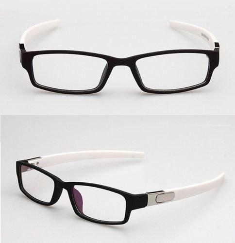 Glasses frames hipster KE Black with White temples Sport New ...