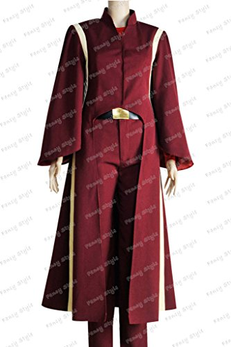 Star Wars The Phantom Menace Queen Padme Amidala Cosplay Costume custom made ()
