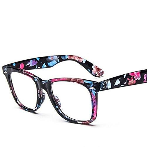 5ac4bf20e9 Amazon.com  Embiofuels(TM) Retro Eye Glasses Frame For Women Fashion  Optical Eyeglasses frames for eyeglasses male Oculos Feminino Masculino  Gafas New  ...